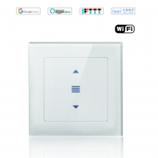 Wintop AI Wi-Fi Smart Light Wall Touch Shutter Switch Neutral Wire Required eHouse 55F Design-white