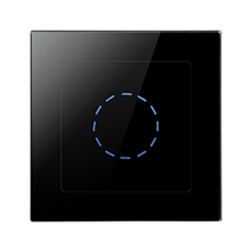 55FG Black Glass Touch Dimmer ...