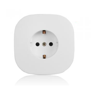82Z White Schuko socket